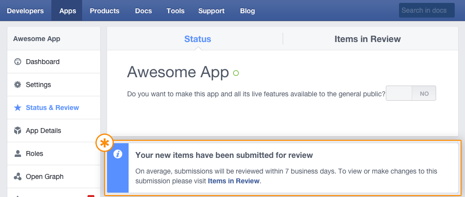 11_How to submit facebook app for approval_Tudip