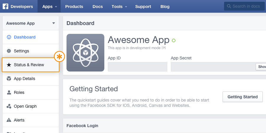 2_How to submit facebook app for approval_Tudip