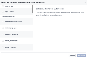 4_How to submit facebook app for approval_Tudip