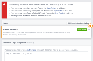 6_How to submit facebook app for approval_Tudip