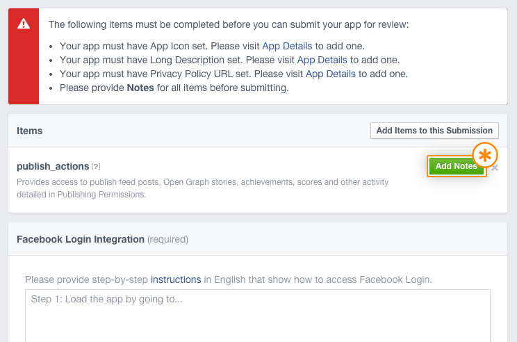 7_How to submit facebook app for approval_Tudip