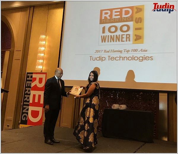 Tudip Technologies at Red Herring