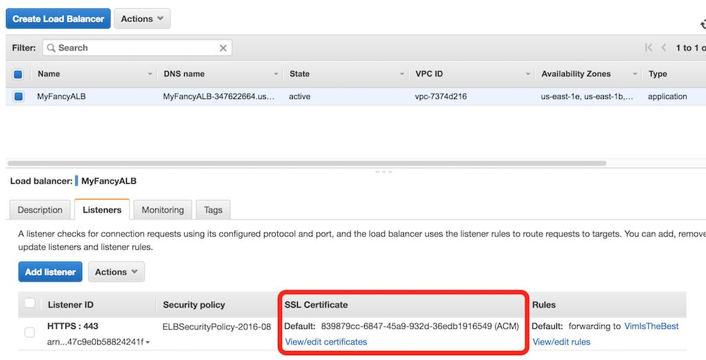 Steps to Add Multiple SSL Certificates on Single AWS ELB | Tudip