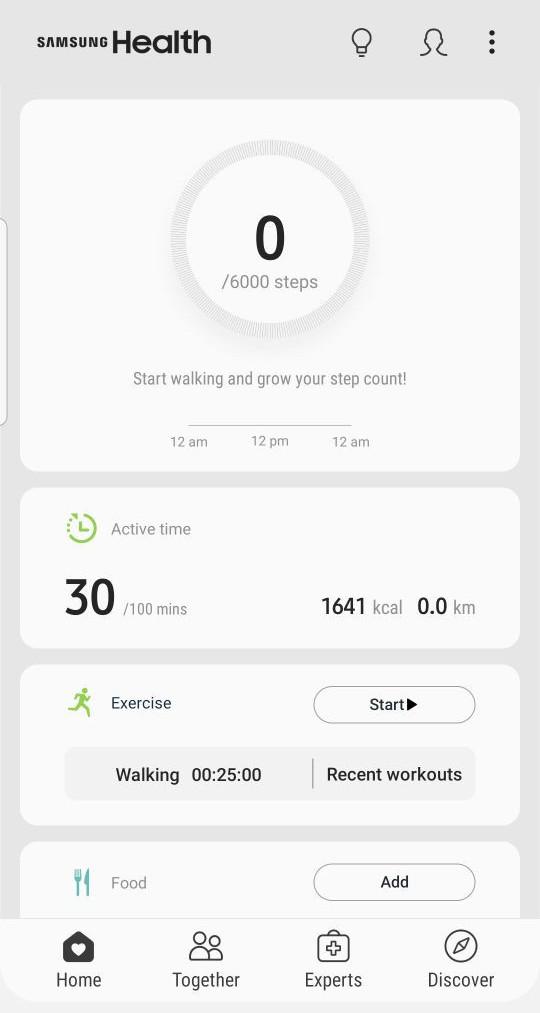 Add Manual Data for Samsung Health App Device