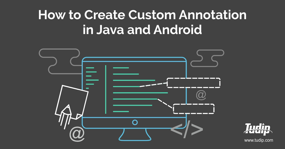 How to write a custom component in java